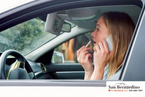 Distracted Driving In California