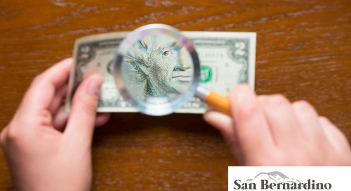 how to detect fake money