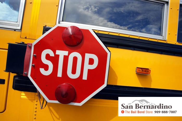 consequences for not stopping for school bus